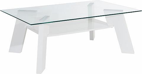 Kavos staliukas su lentyna
