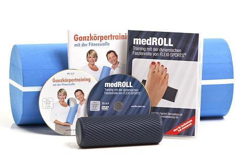 FLEXI-SPORTS ® Fitnessrolle »Fitnessrolle + medROLL...