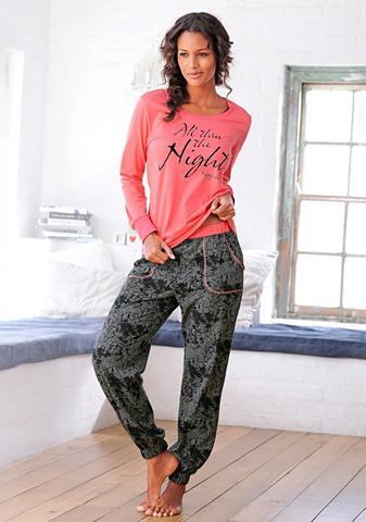 BUFFALO Pižama raštuotas kelnės su kišenės