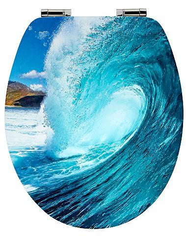 WC-dangtis »Wave« su Lėto nusileidimo ...