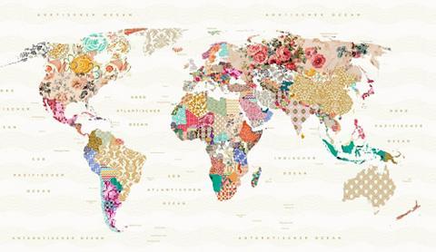 Paveikslas »World of Patterns« in du d...