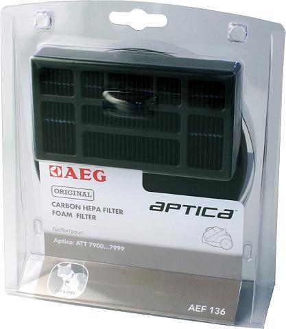 AEG Hepa filtras AEF 136 Priedai dėl Aptic...