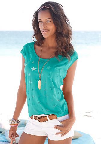 BEACHTIME Marškinėliai (2 vienetai) su permatoma...