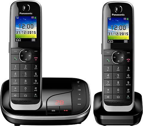 PANASONIC »KX-TGJ322 DUO« Bevielis DECT-Telefon ...