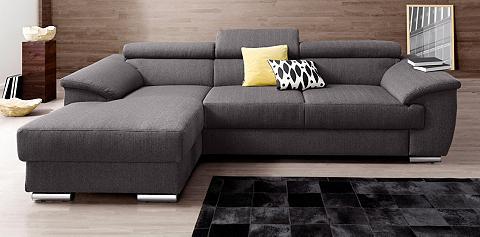 PLACES OF STYLE Kampinė sofa patogi su miegojimo funkc...