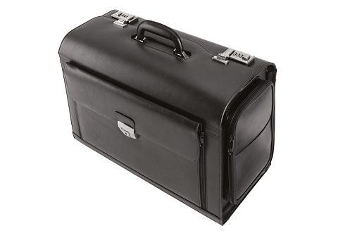 ALASSIO ® lagaminas iš Odinis su Skyrelis komp...