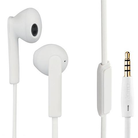 Stereo-Ohrhörer Joy + Weiß