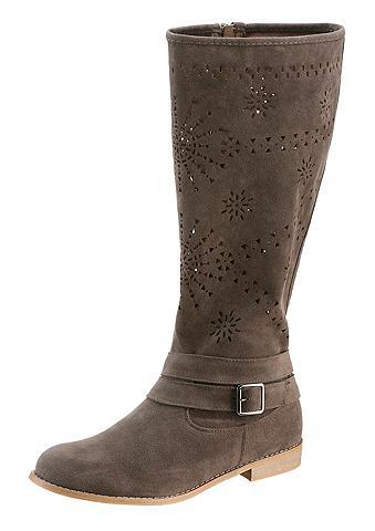 Vasariniai ilgaauliai batai su perfori...