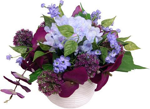 Dirbtinė gėlė »Hortensie/Allium«