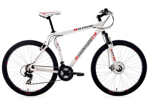 KS CYCLING Dviratis kalnų dviratis 275 Zoll weiß ...