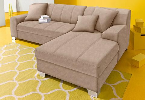 INOSIGN Kampinė sofa patogi su miegojimo funkc...