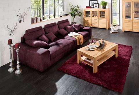 Didelė sofa su Boxspringfederung