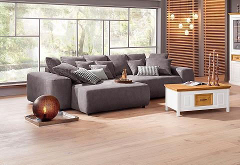 Kampinė sofa su Boxspringfederung pato...