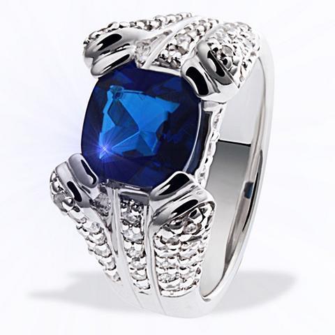 Moteriškas žiedas Silber 925 weiße Zir...