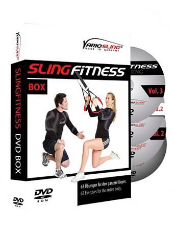 DVD rinkinys »Slingfitness Vol. 1 - 3«...