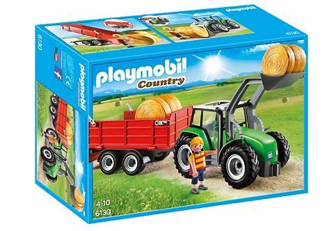 PLAYMOBIL ® Großer traktorius su pakabukas (6130...