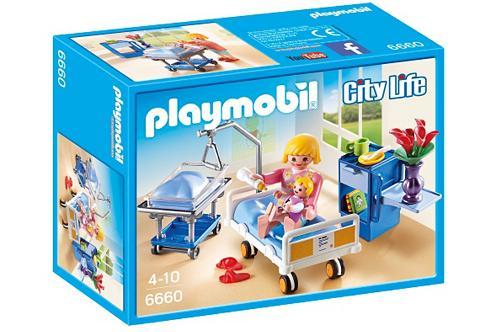 PLAYMOBIL ® Krankenzimmer su lovytė kūdikiui (66...