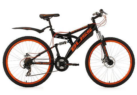 Kalnų dviratis 26 Zoll schwarz-orange ...