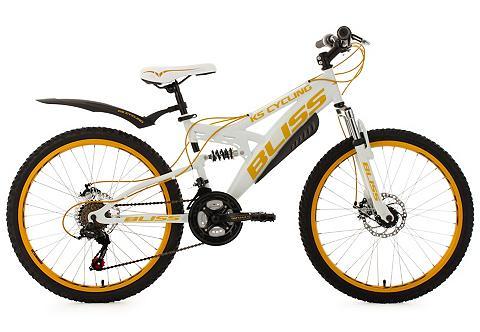 KS CYCLING Fully kalnų dviratis jaunuoliams 24 Zo...