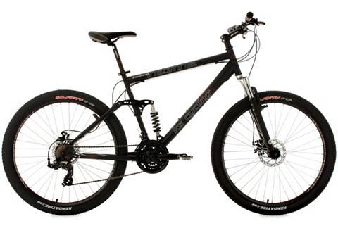 Fully kalnų dviratis 275 Zoll juoda sp...