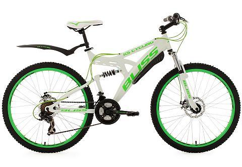 Kalnų dviratis 26 Zoll weiß-grün 21 Ga...