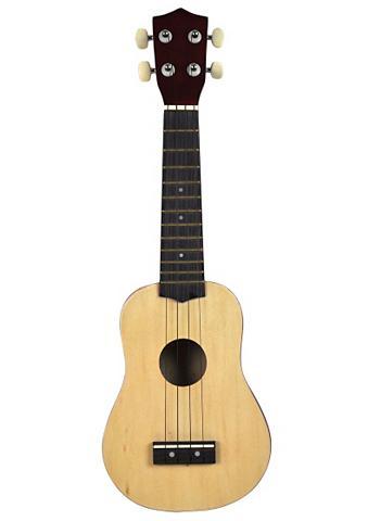 VOGGENREITER Gitara »4-Saitige Mini-Gitarre / Ukule...