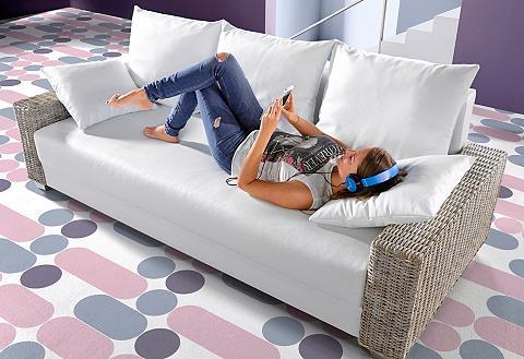 Sofa su miegojimo mechanizmu su Rattan...
