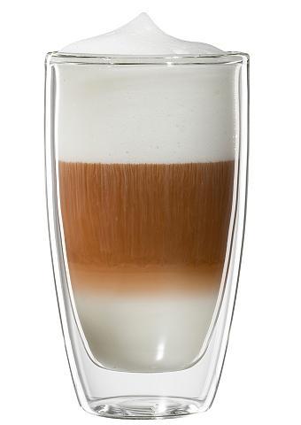 BLOOMIX Stiklinė dėl Latte Macchiato 4vnt. rin...