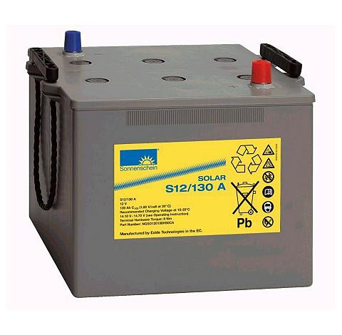 SUNSET Saulės baterija 130 Ah