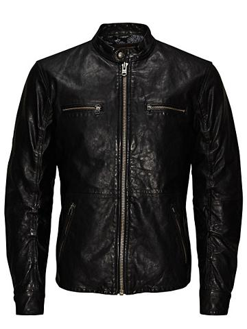 JACK & JONES Jack & Jones Regular-Fit-Biker- Odinė ...
