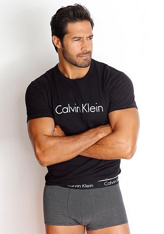 CALVIN KLEIN Apvalia iškirpte Marškinėliai su Logod...