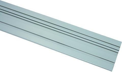 GARDINIA Aluminium-Vorhangschiene 1-läufig Aliu...