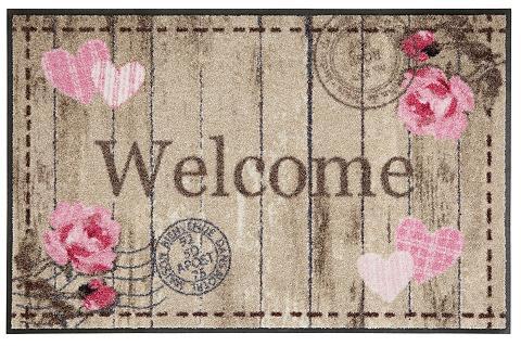 SALONLOEWE Durų kilimėlis »Welcome Roses« rechtec...