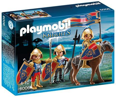 PLAYMOBIL ® Spähtrupp der Löwenritter (6006) Kni...