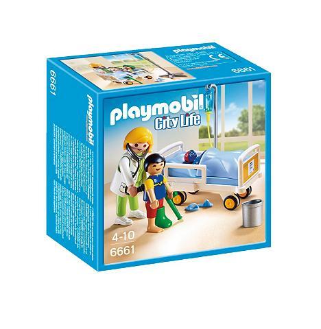 ® Ärztin ant Kinderkrankenbett (6661) ...