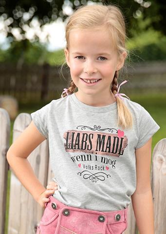 Marškinėliai Kinder su Aufdruck