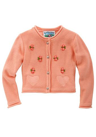 Megztinis Kinder su išsiuvinėta gėlėmi...