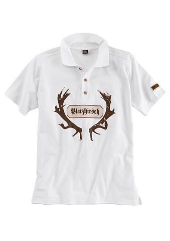 Polo marškinėliai Herren su auff