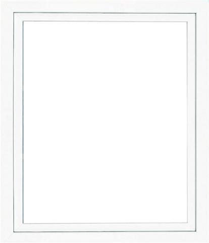 RORO Plastikinis langas BxH: 75x40 cm weiß