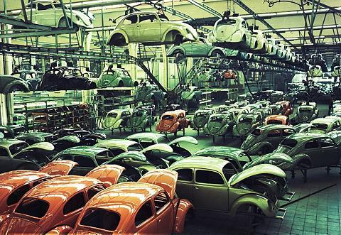 Fototapetas »VW Boružėlė Fototapete«