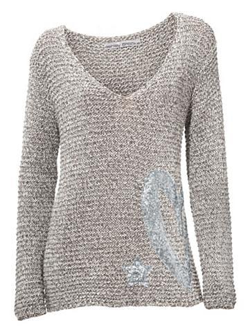 Megztinis su blizgučiai