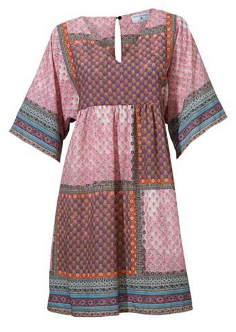 Suknelė su raštų derinys