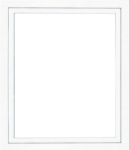 RORO Plastikinis langas BxH: 100x50 cm weiß...