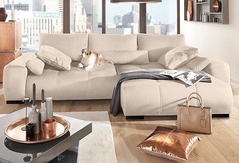 Kampinė sofa »Davis« su Boxspring-Fede...