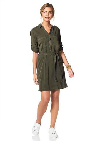 Kareiviško stiliaus suknelė