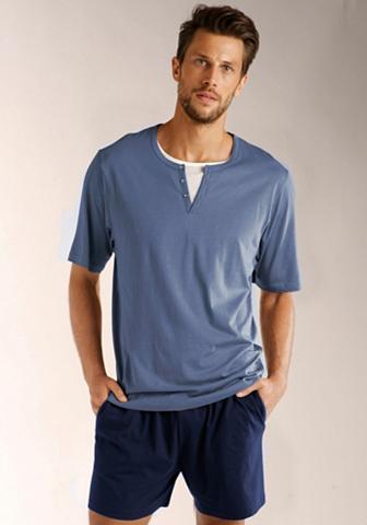 Bodywear pižama pižama in Layeroptik