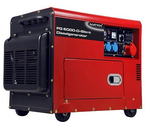 MATRIX Elektros generatorius »PG 6000 D«