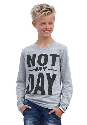 KIDSWORLD Marškinėliai ilgomis rankovėmis »NOT M...