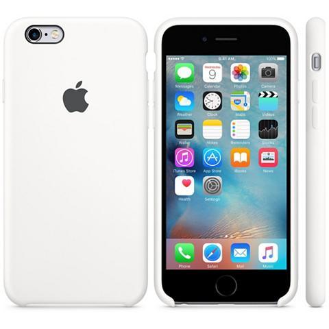 Case »i Phone 6S Silikon Case Weiß«