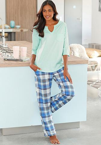 Pižama (3 tlg.) moderni Design su lang...